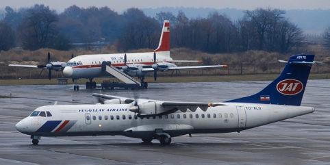 Planespotting im November-Grau