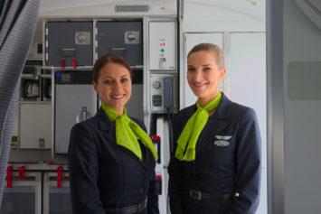 Air Baltic Flugbegleiterinnen