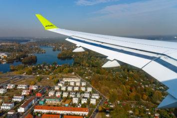 Landeanflug auf Berlin-Tegel