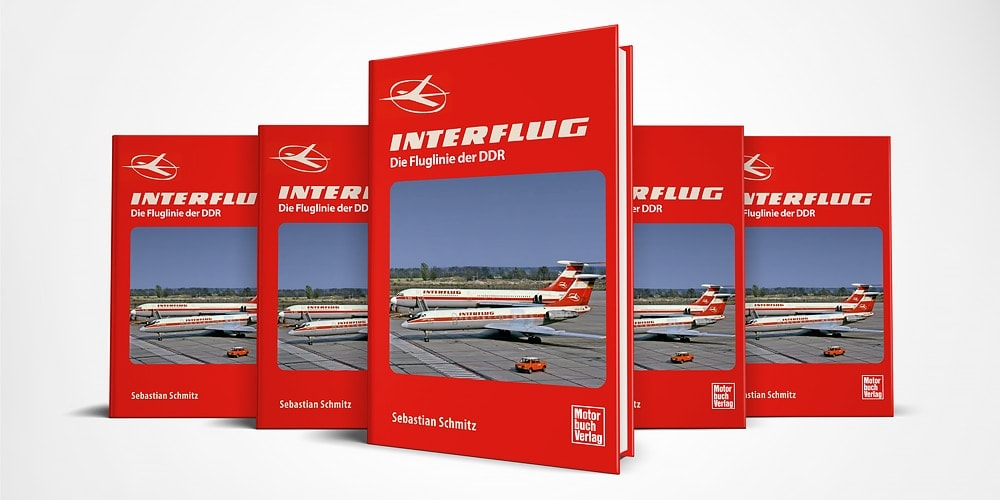 Buchcover INTERFLUG die Fluglinie der DDR